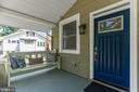 Front Porch: 1 of 2 benches - 2705 HAMLIN ST NE, WASHINGTON