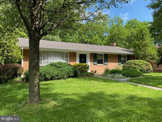 Gorgeous brick rambler with bay wdw - 7305 BAYLOR AVE, COLLEGE PARK