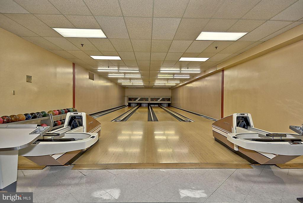 Bowling alley - 5902 MOUNT EAGLE DRIVE #1505, ALEXANDRIA