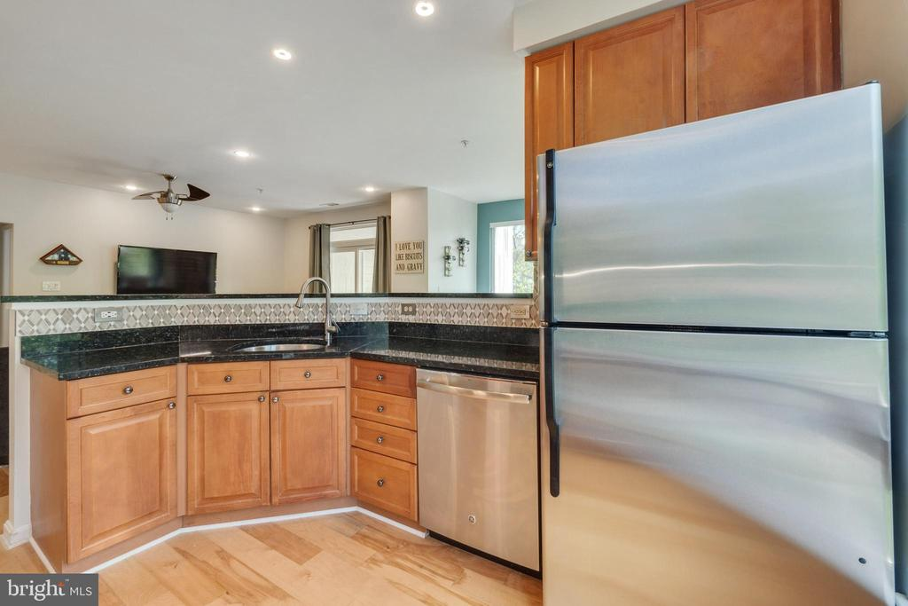KITCHEN W GRANITE AND STAINLESS STEEL APPLICANCES - 801 S GREENBRIER ST #221, ARLINGTON