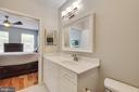MASTER BATHROOM - 801 S GREENBRIER ST #221, ARLINGTON
