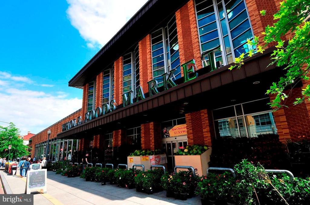 Nearby Whole Foods - 1312 MASSACHUSETTS AVE NW #109, WASHINGTON