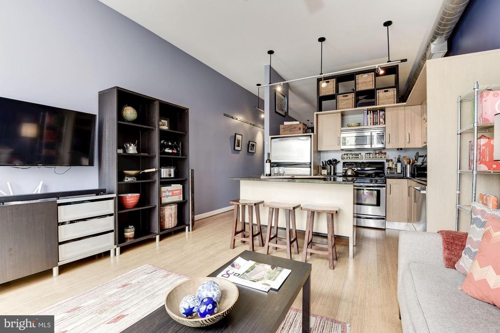 Unit is so bright... and this was a cloudy day! - 1390 V ST NW #209, WASHINGTON