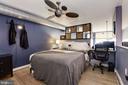 Loft-style bedroom - 1390 V ST NW #209, WASHINGTON