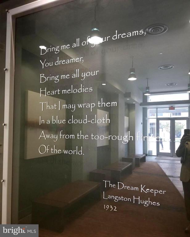 Its famous namesake, Langston Hughes. - 1390 V ST NW #209, WASHINGTON