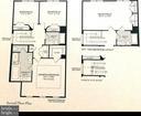 Upper Lvl is 3 bedrm w 4th Bedrm on Upper Level 2 - 1641 HUNTING CREEK DR, ALEXANDRIA