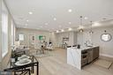 High ceilings with recessed lighting - 1821 I STREET NE #13, WASHINGTON