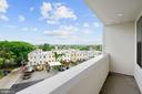 Incredible views from your private balcony - 1821 I STREET NE #13, WASHINGTON