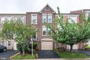 Brick Front Colonial with just repaved Driveway - 7513 COLLINS MEADE WAY, ALEXANDRIA