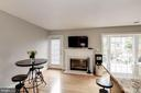 Breakfast Room with Fireplace - 7513 COLLINS MEADE WAY, ALEXANDRIA