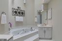 Master Bath with 2 Separate Vanities - 7513 COLLINS MEADE WAY, ALEXANDRIA
