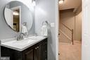 Updated Basement Bath - 7513 COLLINS MEADE WAY, ALEXANDRIA