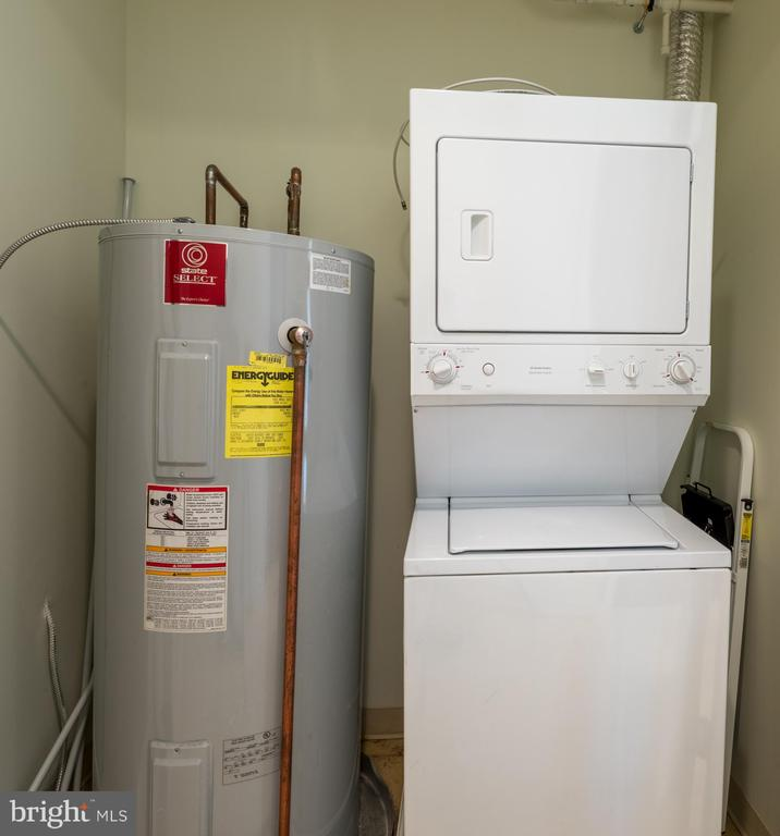 Laundry/utility closet - 12025 NEW DOMINION PKWY #601, RESTON
