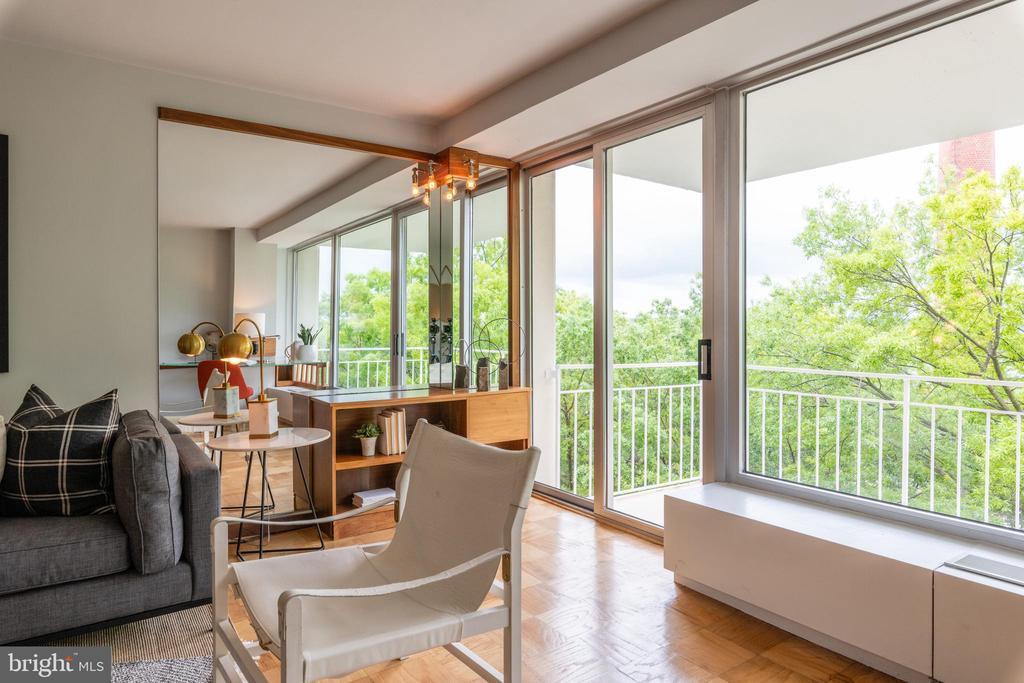 Beautiful Balcony Views - 1435 4TH ST SW #B710, WASHINGTON