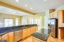 Kitchen opens to  breakfast room and dining nook - 9649 LOGAN HEIGHTS CIR, SPOTSYLVANIA