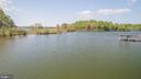 View from the dock - 3600 MORNING GLORY RD, BUMPASS