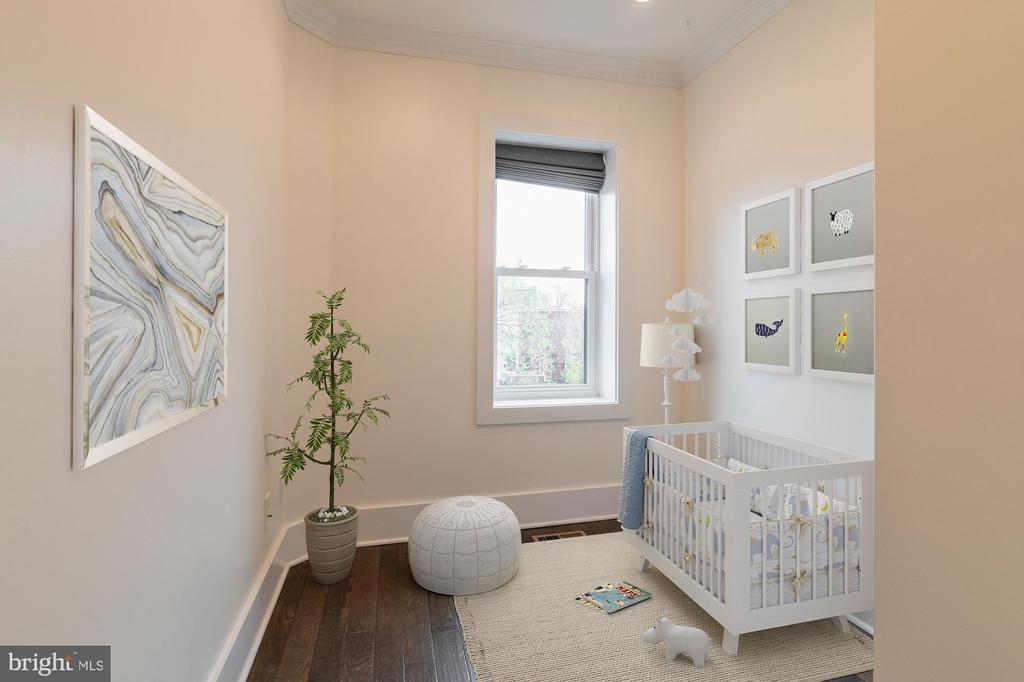 Bedroom 3 Virtually Staged - 1421 NORTH CAROLINA AVE NE, WASHINGTON