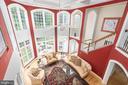 Two-story family room - 3242 FOXVALE DR, OAKTON