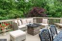 Relax and unwind on the deck - 3242 FOXVALE DR, OAKTON