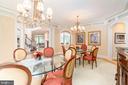 Formal dining room - 3242 FOXVALE DR, OAKTON