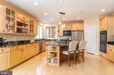 Kitchen with Viking and GE appliances - 3242 FOXVALE DR, OAKTON
