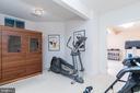 Basement sauna (conveys) and workout room - 3242 FOXVALE DR, OAKTON