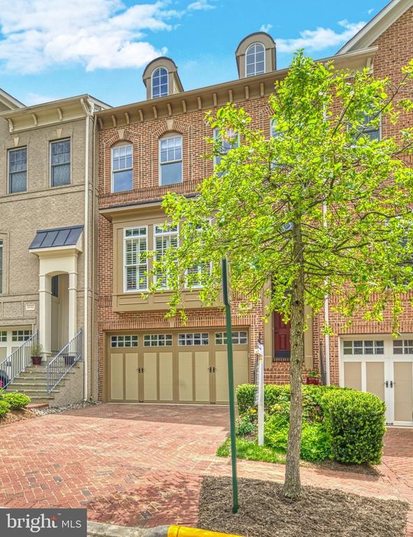Gorgeous Paver Driveway and lush Landscaping. - 6745 DARRELLS GRANT PL, FALLS CHURCH