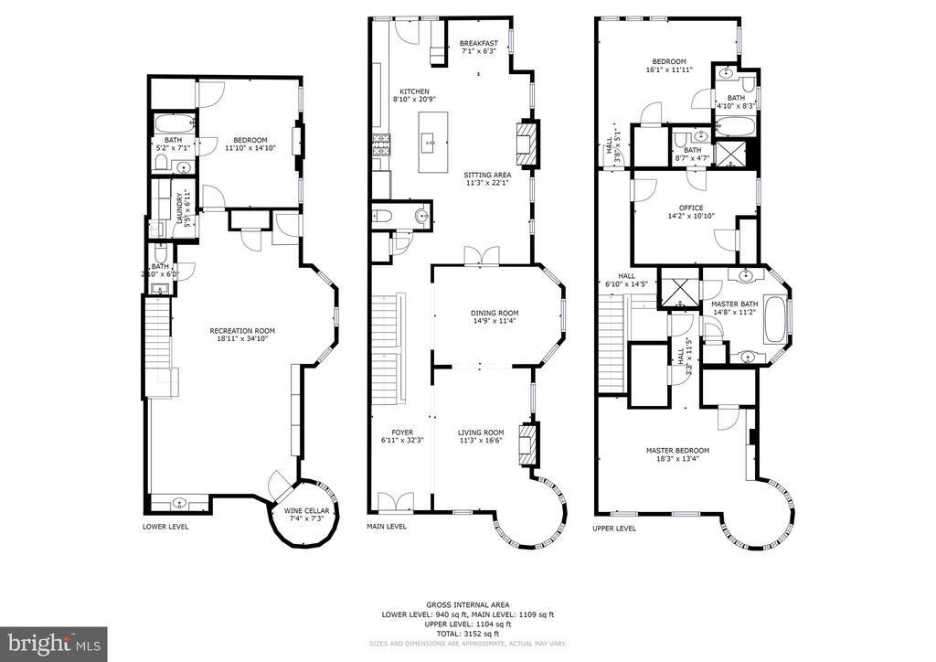 Floorplan - 1601 35TH ST NW, WASHINGTON