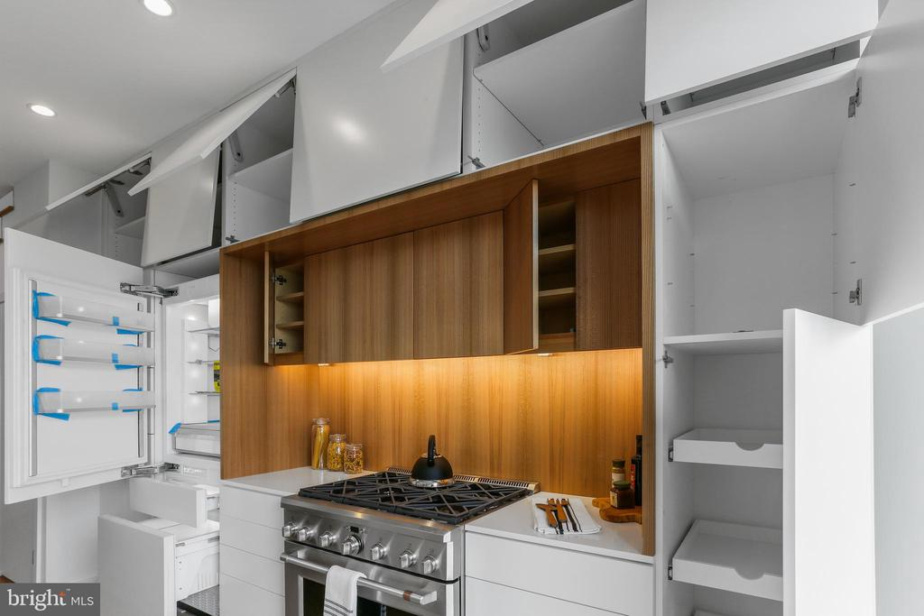 Push and Touch Cabinetry, Custom Mill-Work - 1434 CHAPIN ST NW #4, WASHINGTON