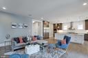 Recess lighting through the house - 1313 N HERNDON ST, ARLINGTON