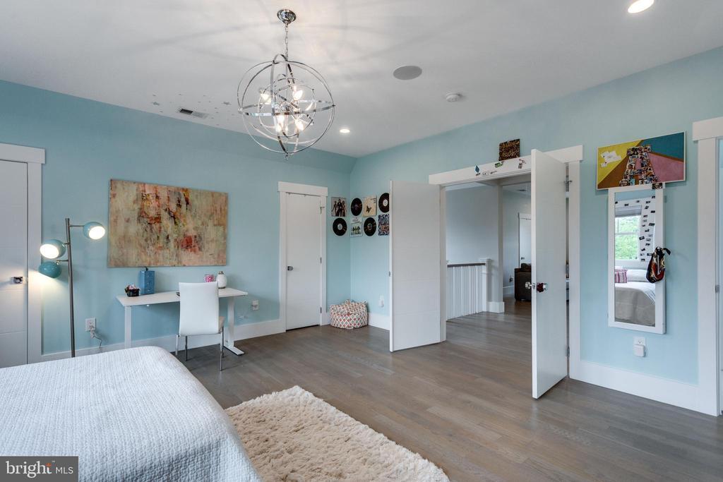 Details - double doors to BR suite (3rd  floor) - 1313 N HERNDON ST, ARLINGTON