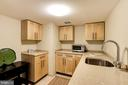 Lower Level - Kitchenette - 3606 NORTON PL NW, WASHINGTON