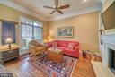 Light from front to back to this Family Room. - 6745 DARRELLS GRANT PL, FALLS CHURCH