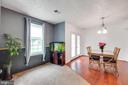 View from living room to dining room - 14337 MARLBOROUGH LN, UPPER MARLBORO