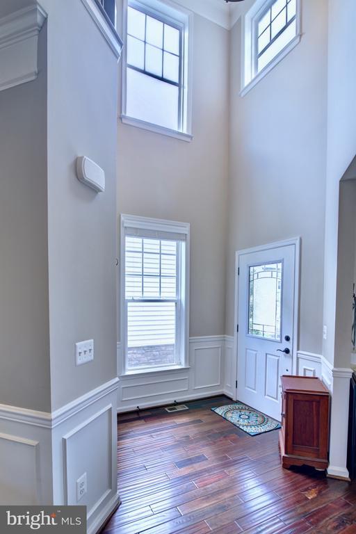 Front Door Foyer with Coat Closet - 42602 STRATFORD LANDING DR, BRAMBLETON