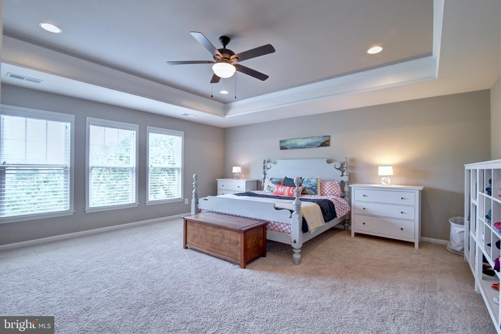 Master Bedroom With Private Treed View - 42602 STRATFORD LANDING DR, BRAMBLETON