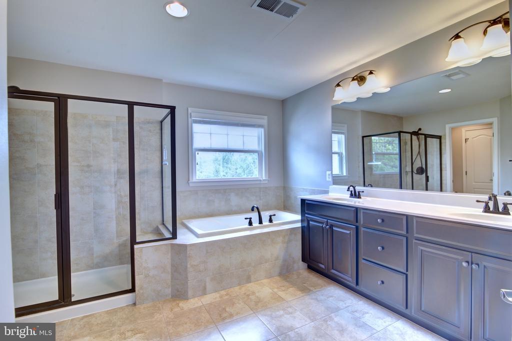 Master Bathroom with  Separate Tub & Shower - 42602 STRATFORD LANDING DR, BRAMBLETON
