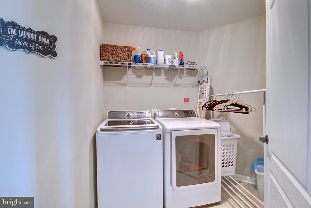 Upstairs Laundry Room - 42602 STRATFORD LANDING DR, BRAMBLETON