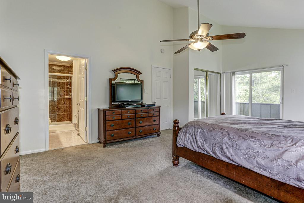 Master looking into bath - 18400 STONE HOLLOW DR, GERMANTOWN