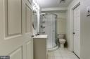 Lower Level Bath - 18400 STONE HOLLOW DR, GERMANTOWN