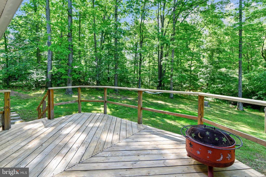 There are 2 large, spacious Decks.  Deck #1 - 123 LAKE DR, STERLING