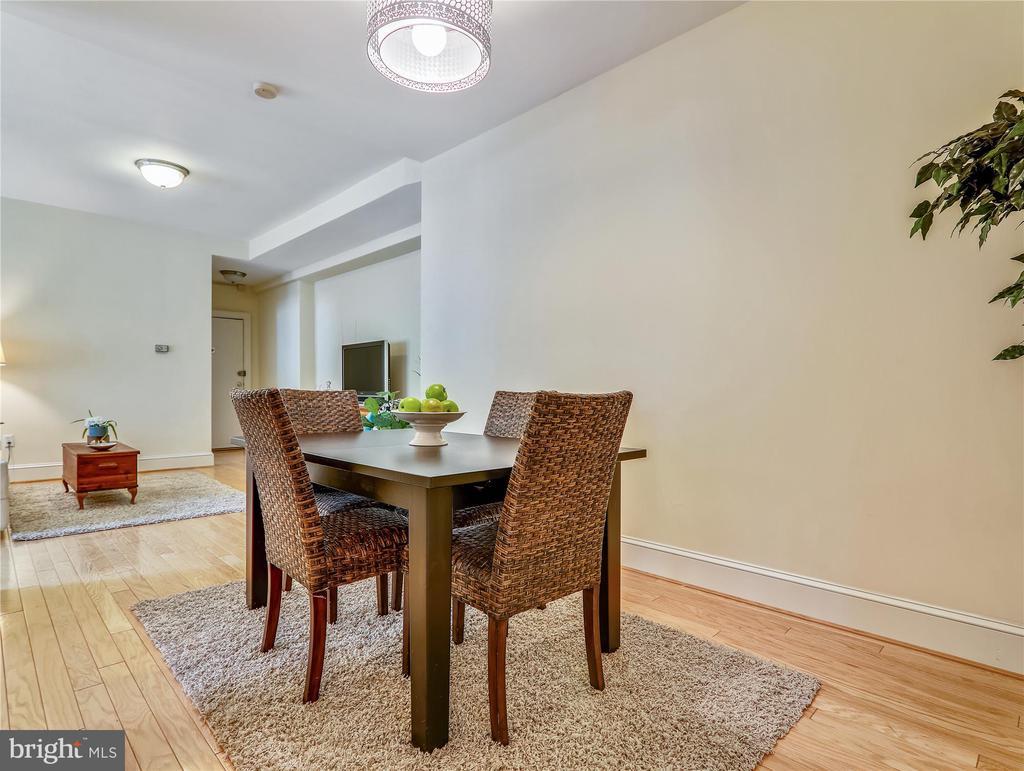 Spacious Dining Area - 5315 CONNECTICUT AVE NW #108, WASHINGTON