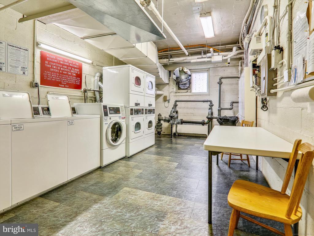 Main floor Laundry Room - 5315 CONNECTICUT AVE NW #108, WASHINGTON