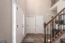 Powder room and closet access from foyer - 259 HEFLIN RD, STAFFORD