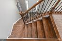 Hardwood stairs and upgraded iron baulasters - 259 HEFLIN RD, STAFFORD