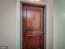 Front door to unit - 4801 FAIRMONT AVE #902, BETHESDA