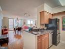 Kitchen - 4801 FAIRMONT AVE #902, BETHESDA