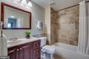 Main level luxury full bath - 1645 INTERNATIONAL DR #407, MCLEAN