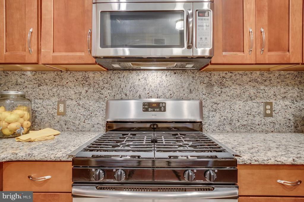 Updated kitchen with stainless steel appl - 1645 INTERNATIONAL DR #407, MCLEAN