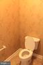 Master bath toilet - 605 RAVEN AVE, GAITHERSBURG